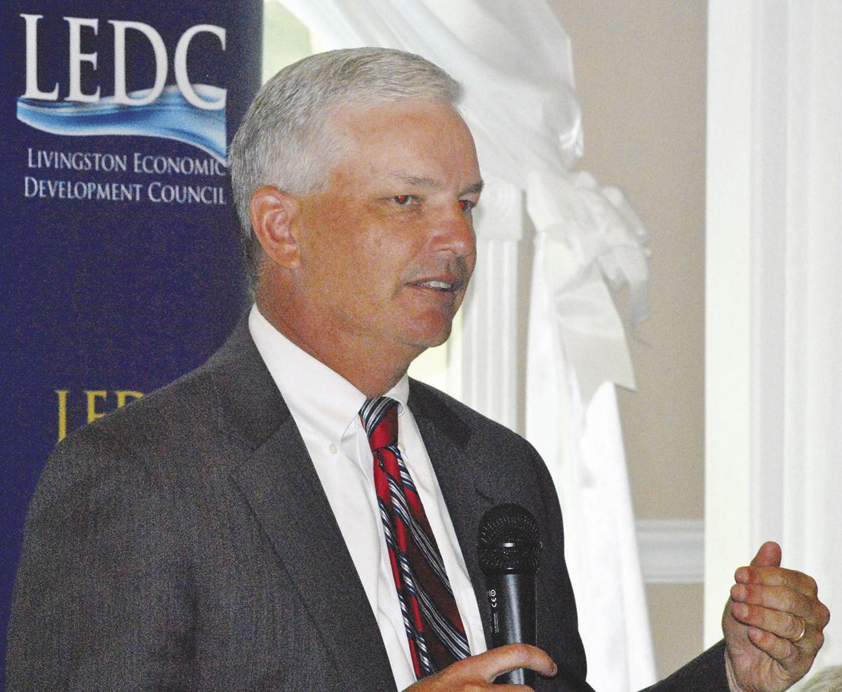 David Bennett Addresses LEDC