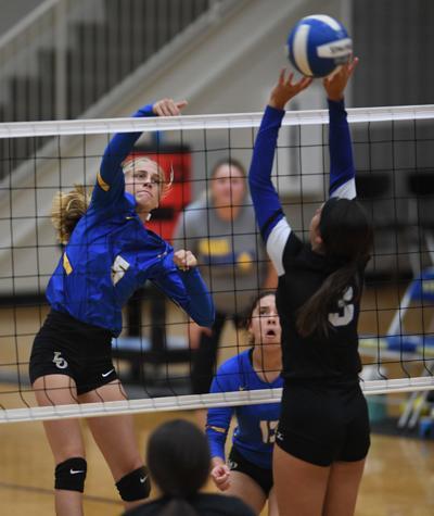 LOHS vs. Springfield volleyball: Chloe Magee (5)