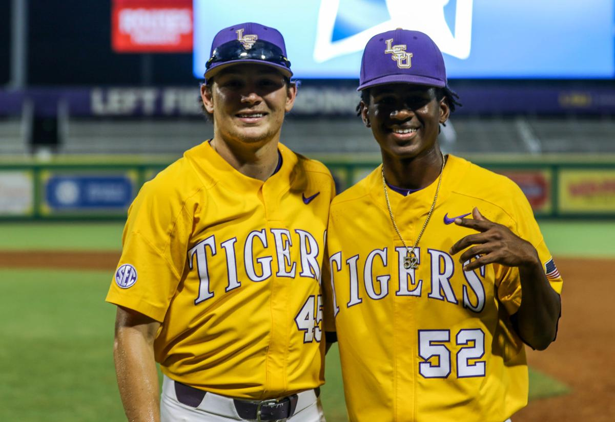 LSU baseball in NCAA Regional championship: Braden Doughty of Denham Springs and pitcher Ma'Khail Hilliard