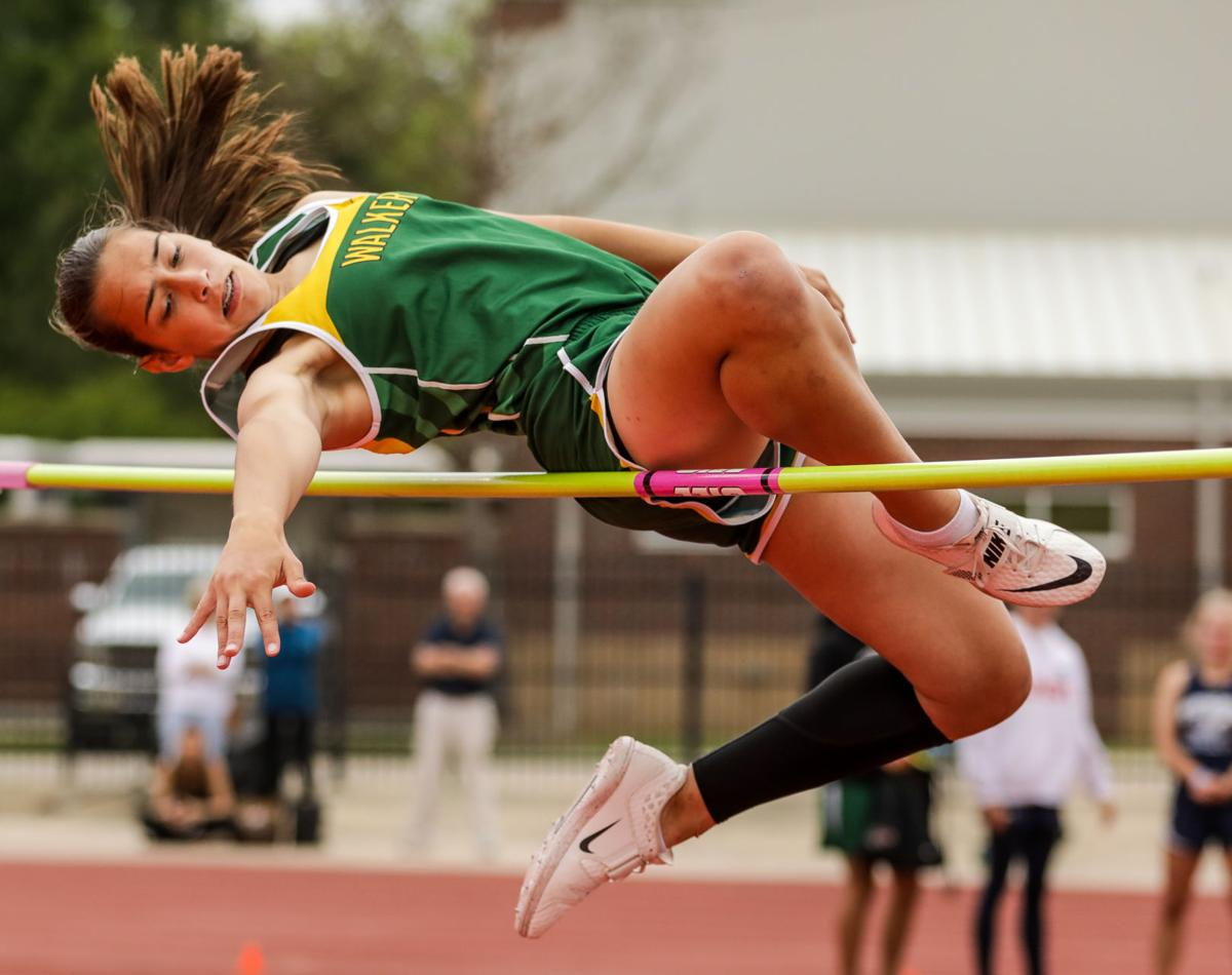 Regional Track Meet Lillie Waguespack