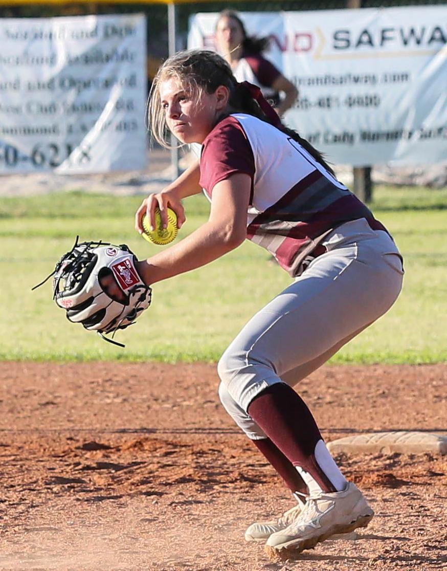 AHS vs Springfield Softball Madison Knight