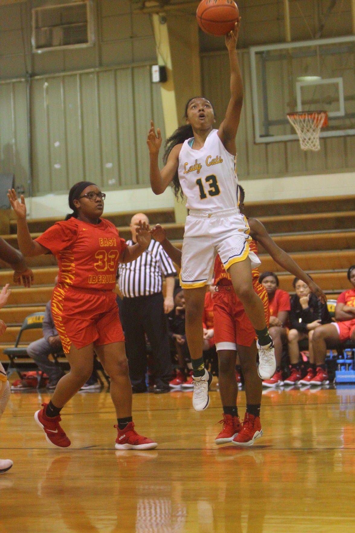 Walker girls Bkb vs. E. Iberville Tarondia Harold