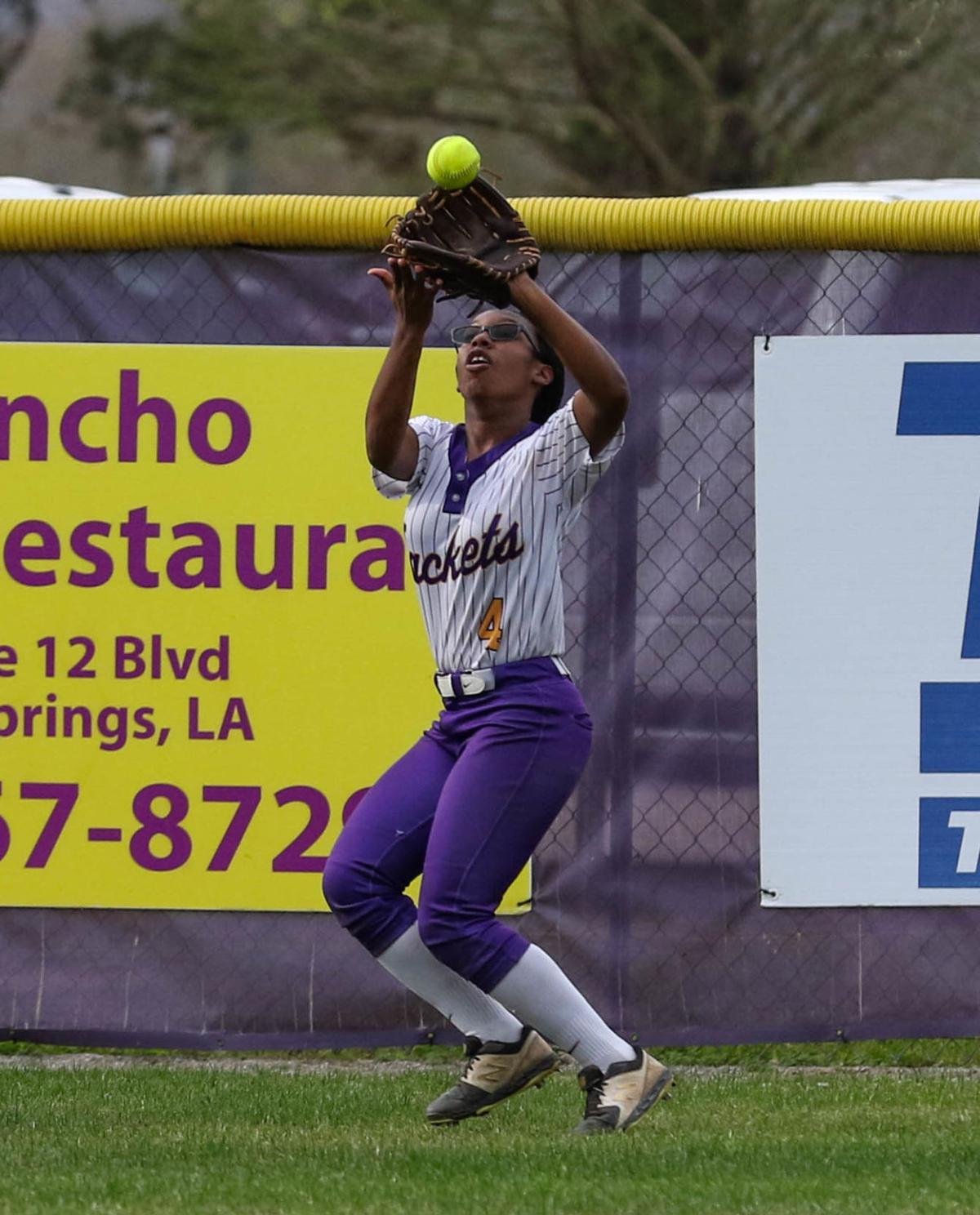 Denham Springs vs Northshore Softball: Alexis Richardson