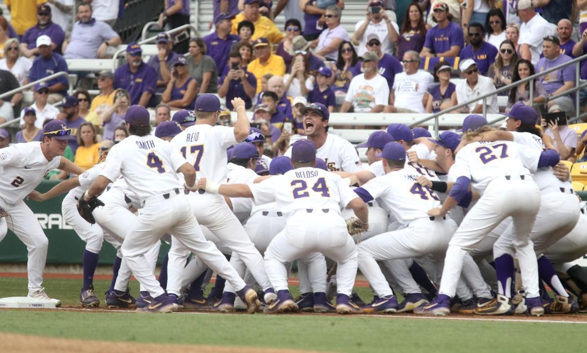 LSU baseball in NCAA Regional: Clay Moffitt