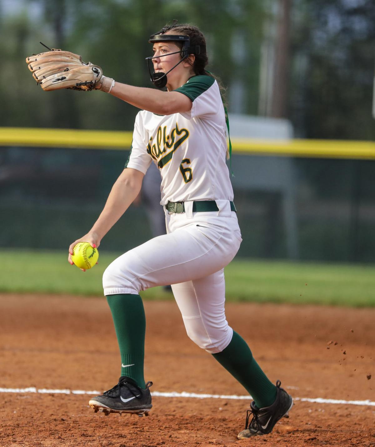 Live Oak at Walker softball Haleigh Pourciau