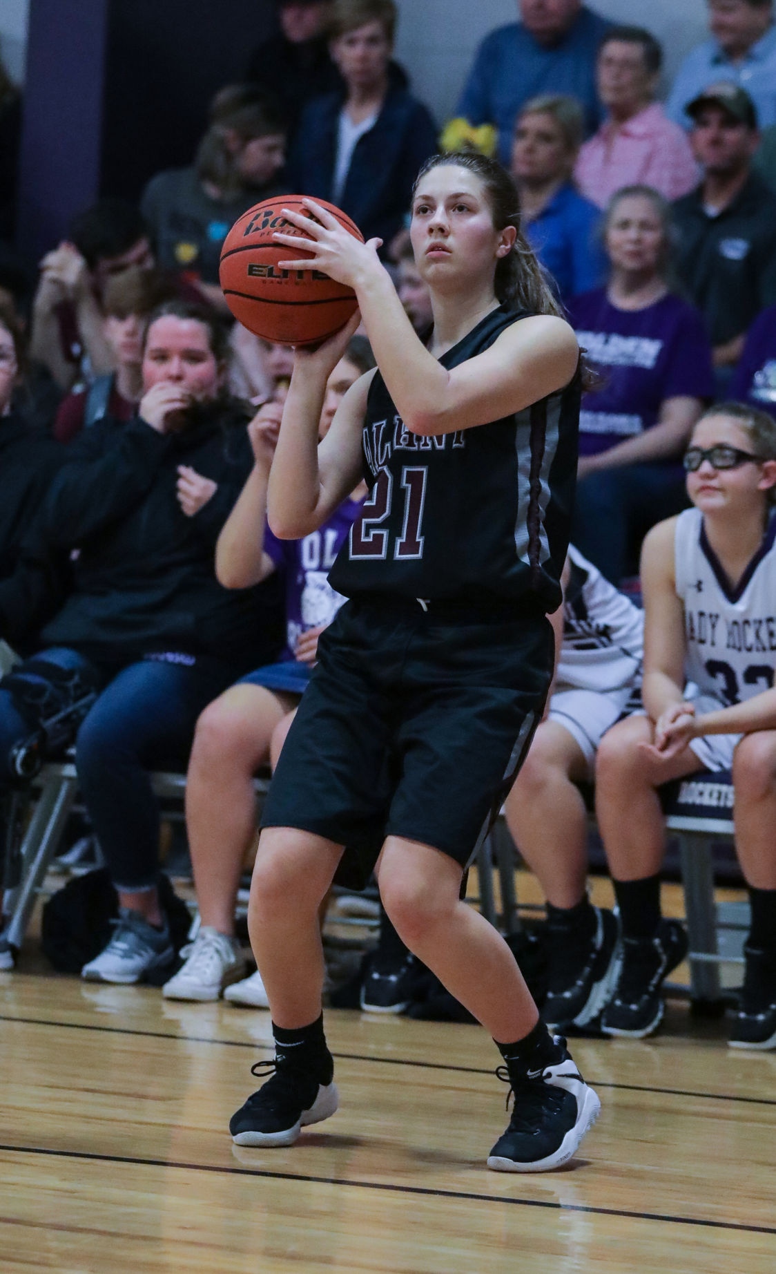 Albany at Holden girls basketball Devyn Hoyt