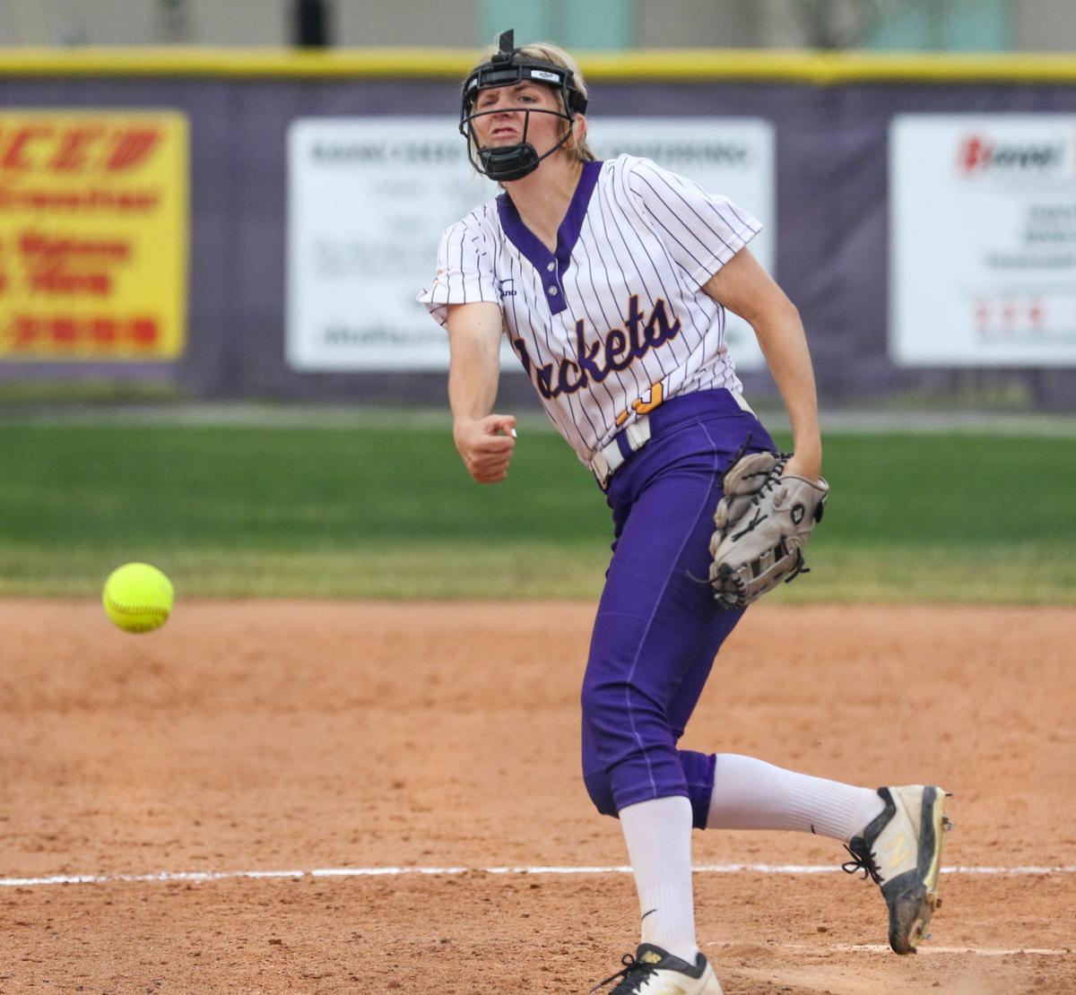 Denham Springs vs Northshore Softball: Natalie Parker