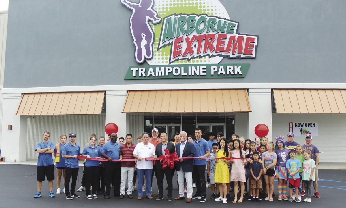 Airborne Extreme Trampoline Park opens to lead Livingston Square revival | News ...