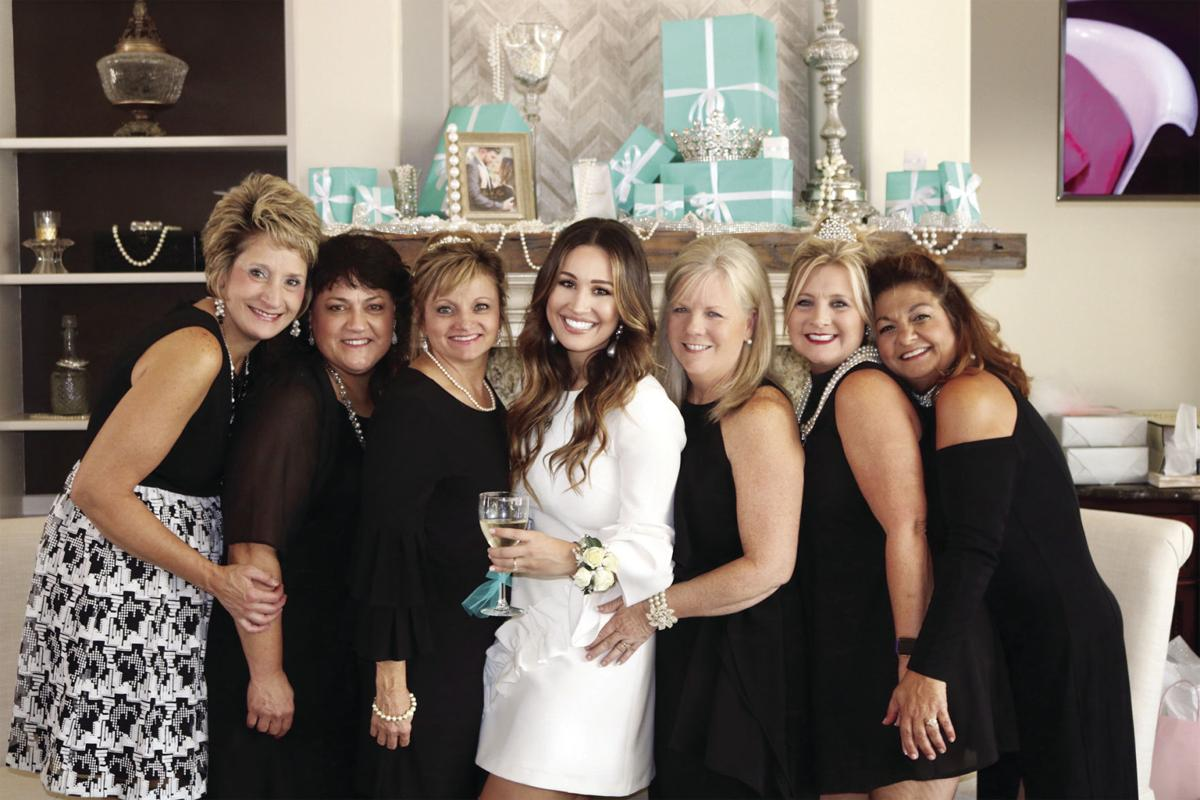 Miss Nicole Johnson honored at bridal shower