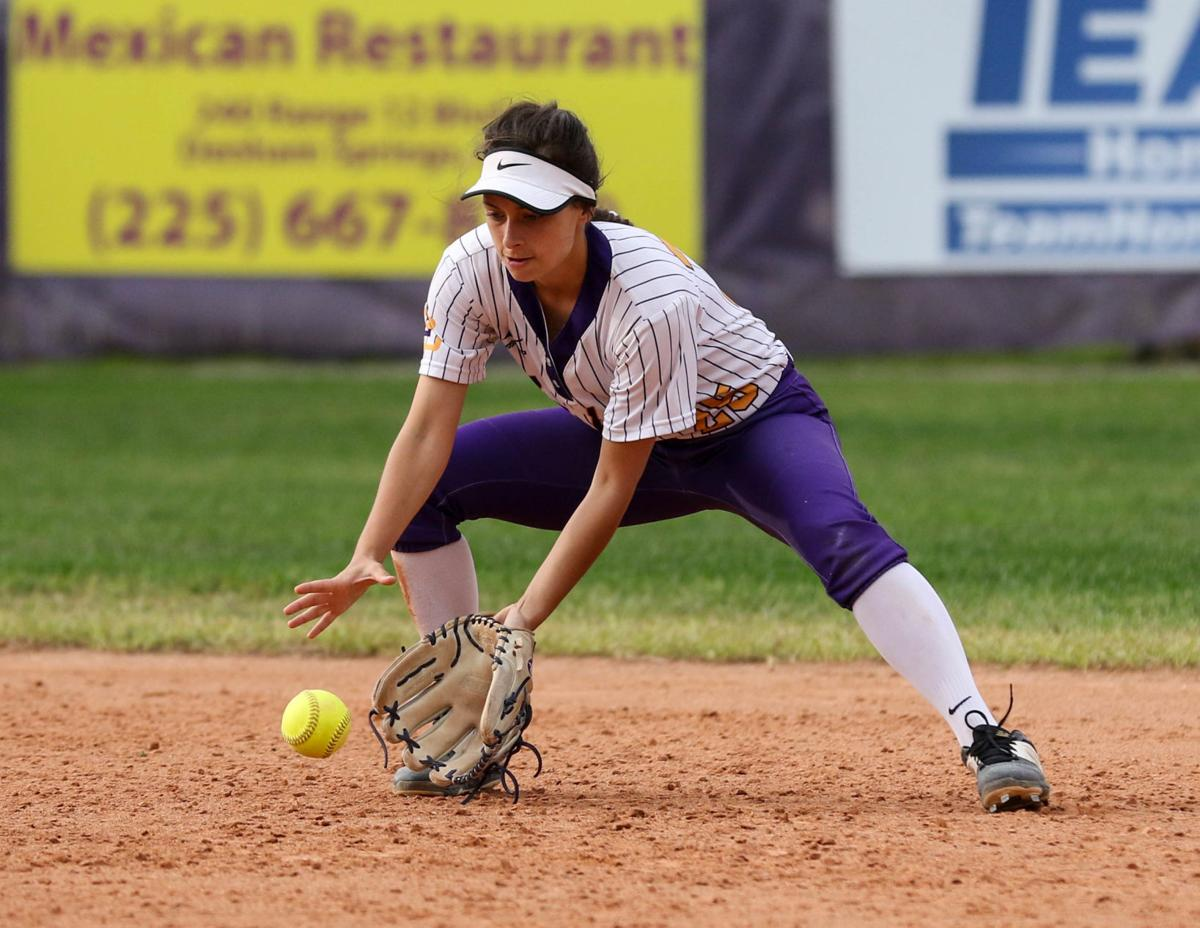 Denham Springs vs Northshore Softball: Paige Luquette