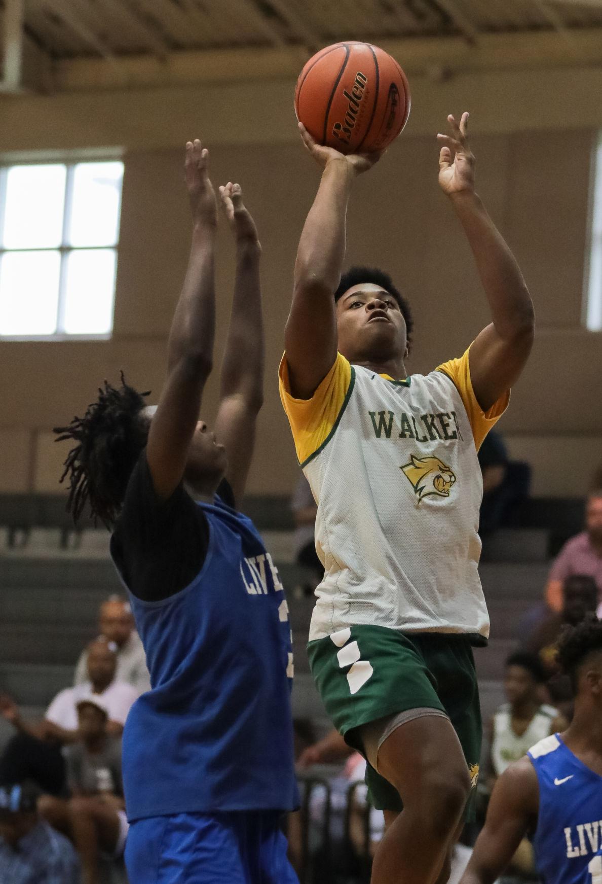 Walker vs. Live Oak basketball Jalen Cook Darian Ricard