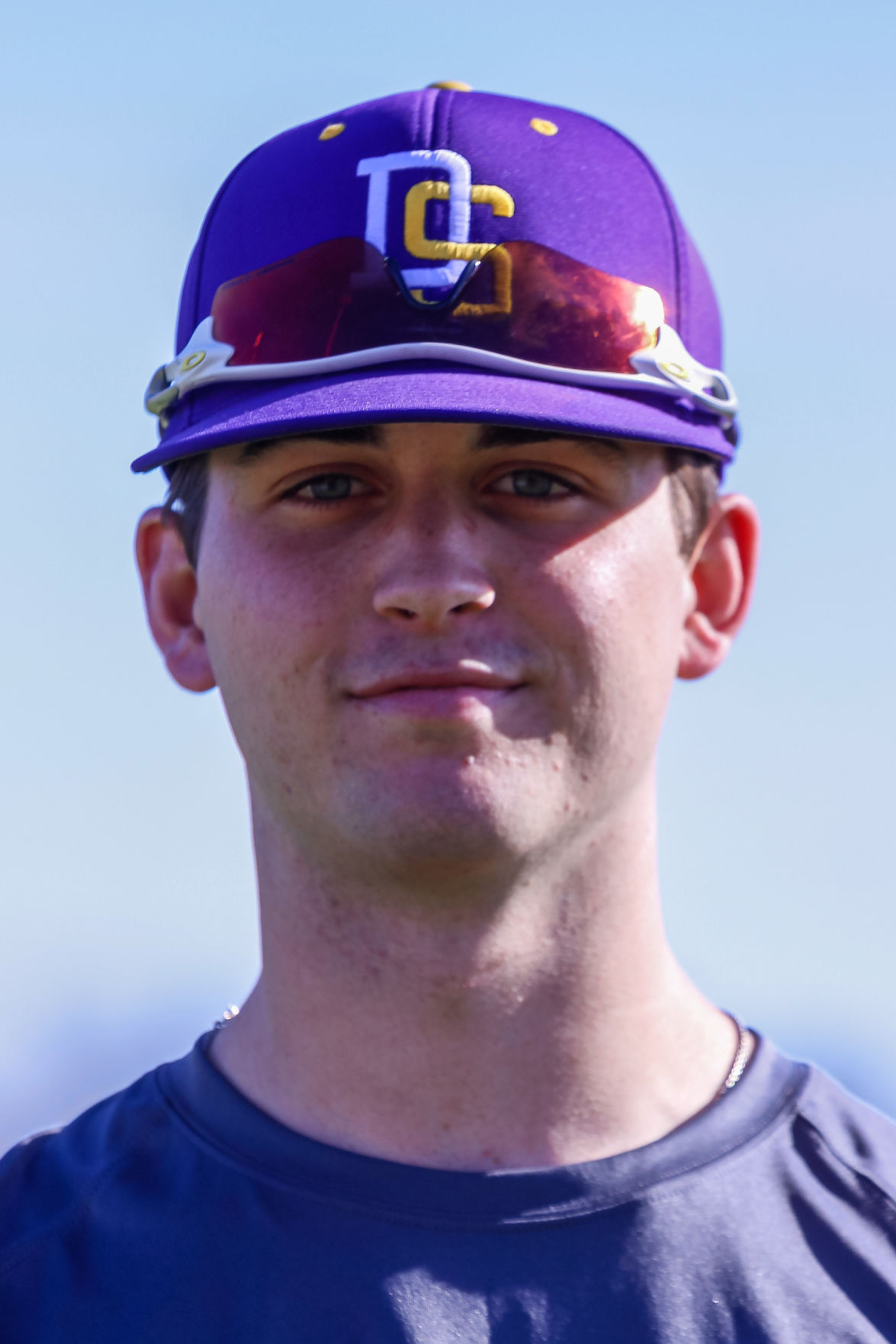 DSHS baseball head shots Chandler Pope (2018)