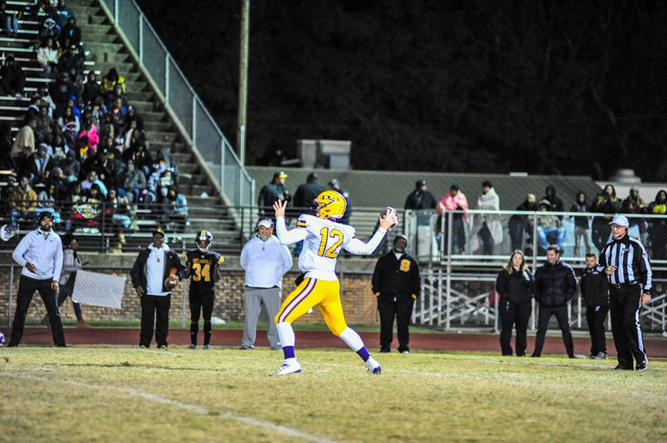 Denham Springs FB vs, Scotlandville: Luke Lunsford