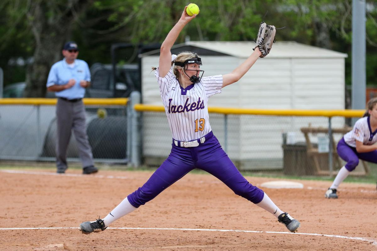 Denham Springs vs Northshore Softball: Natalie Parker