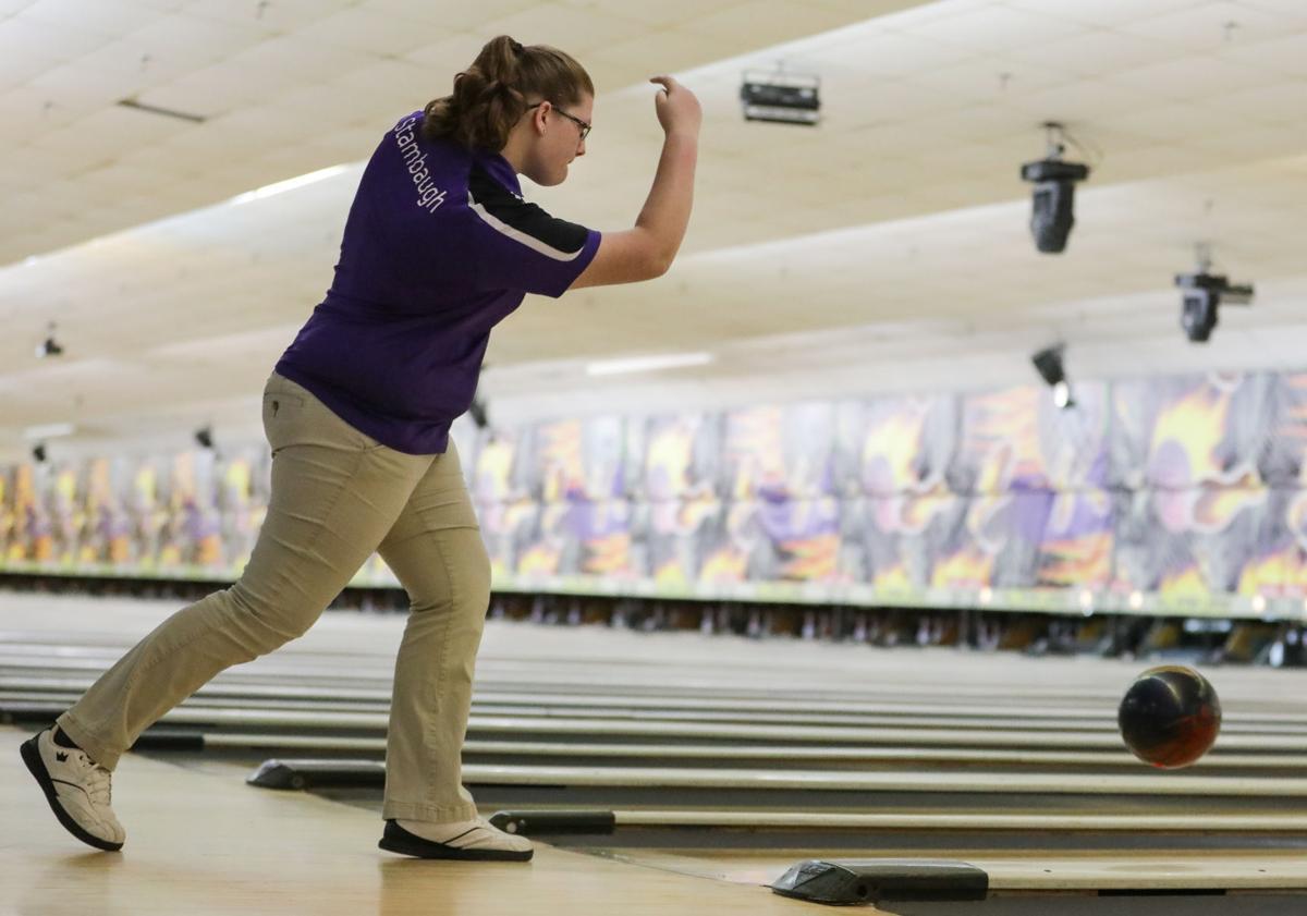 Holden Girls State Bowling Hannah Stambaugh