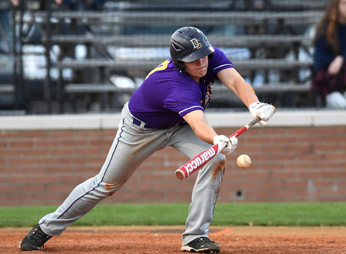 Denham Springs baseball vs. Catholic High: Brennan Hall