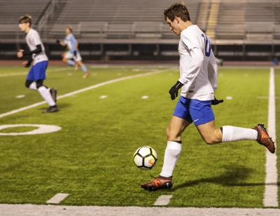 Live Oak vs Zachary boys soccer Nick Magee