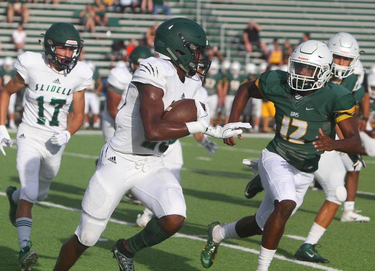 Walker-Slidell Football Kerry Flowers