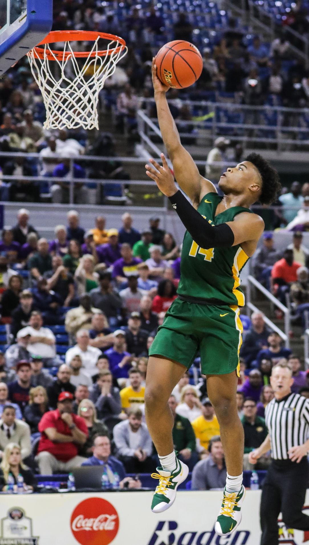 Walker vs. Thibodaux boys basketball Jalen Cook