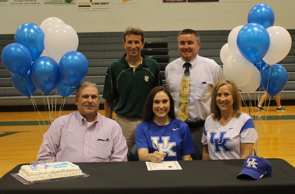 Madison Averett signing