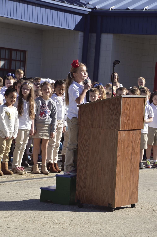 Eastside Elementary Veteran's Day