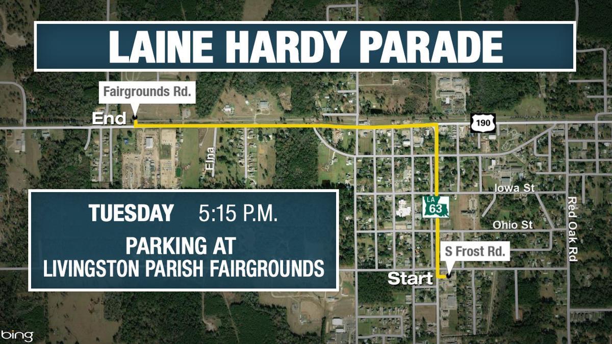Laine Hardy parade