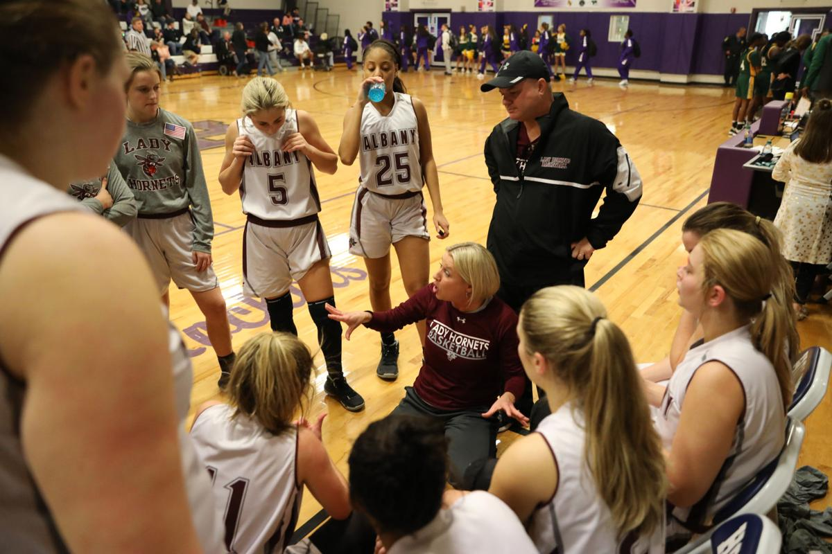 Walker vs. Albany girls basketball - Stacy Darouse, Albany