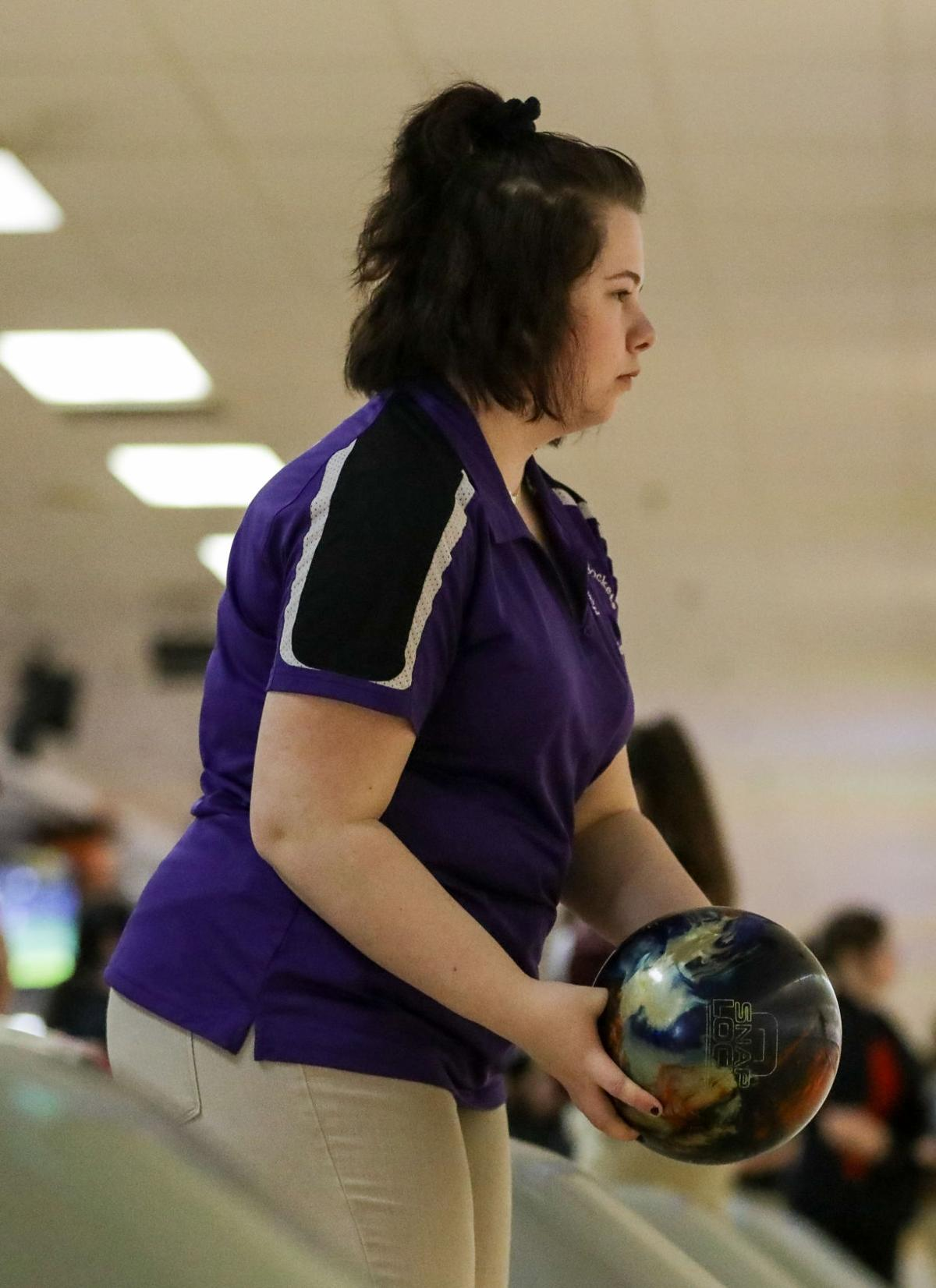Holden Girls State Bowling Madison Stafford