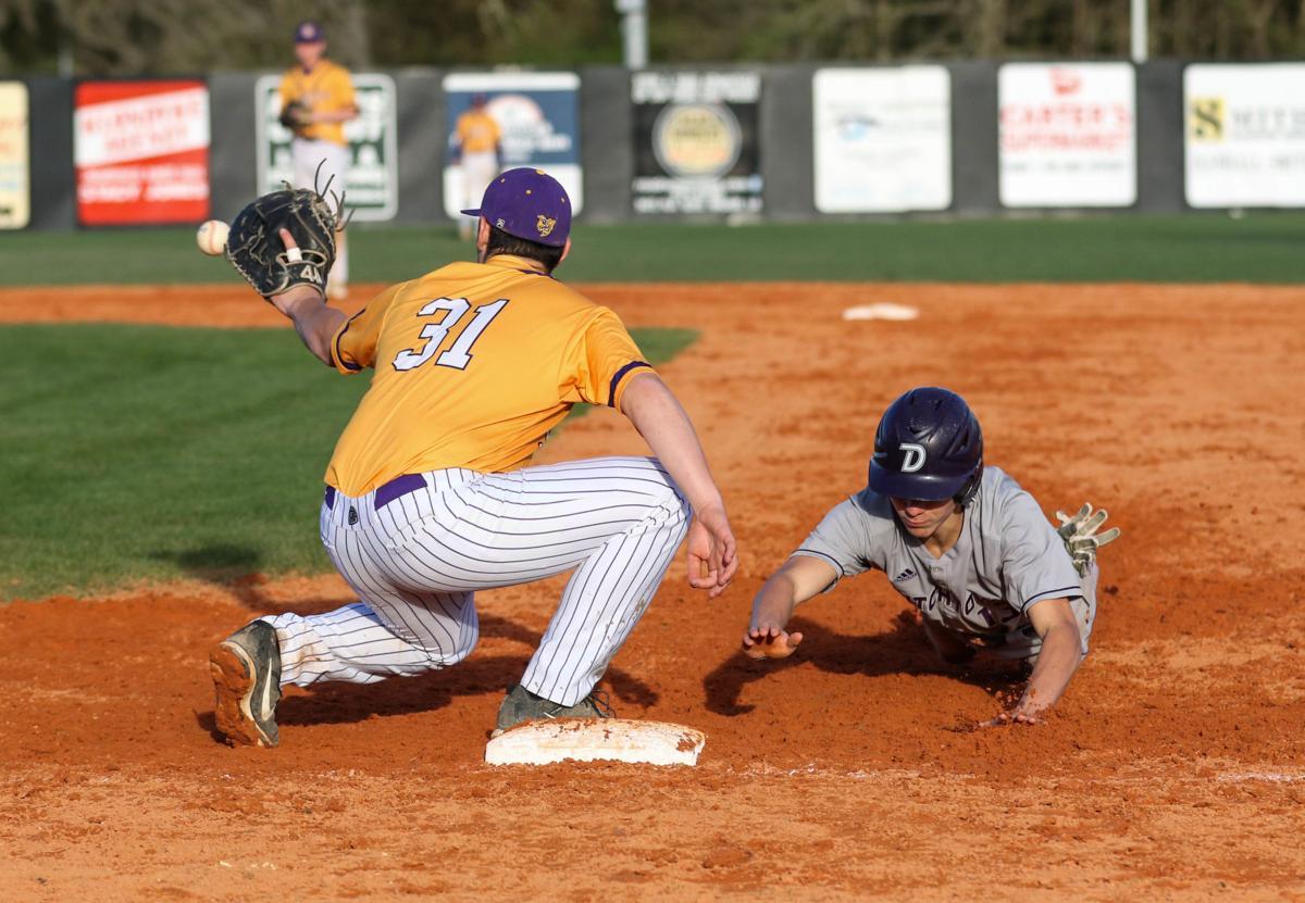 Dutchtown vs Denham Baseball: Brennan Hall