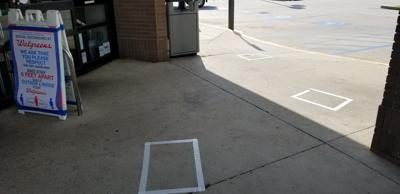 Walgreens line placement