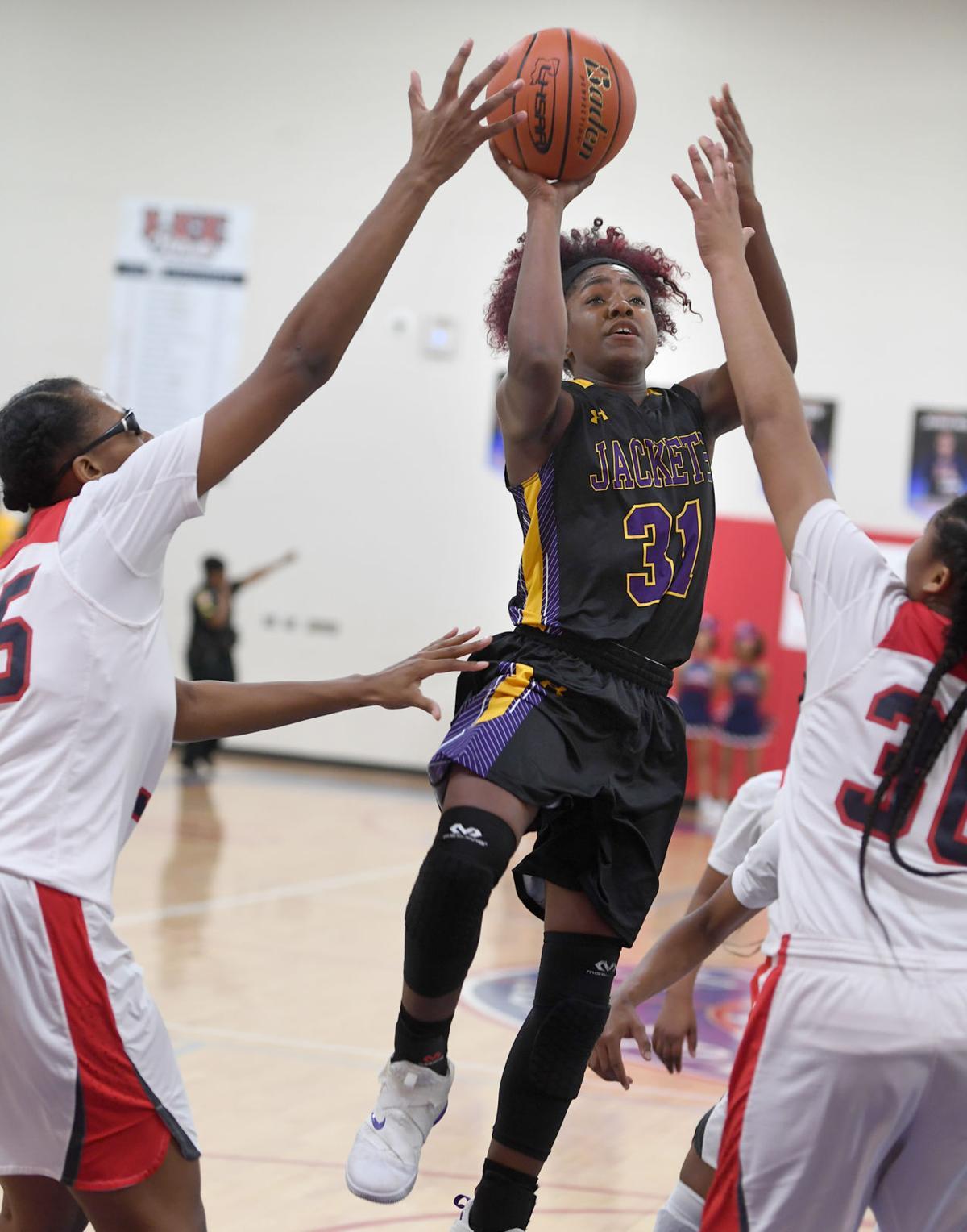 DSHS girls basketball vs. Lee: Alexius Horne (31)