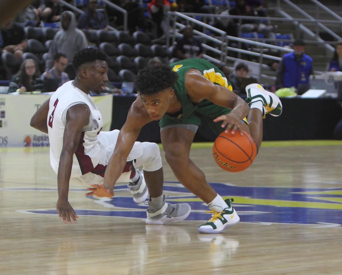Walker vs Ouachita boys basketball Jalen Cook