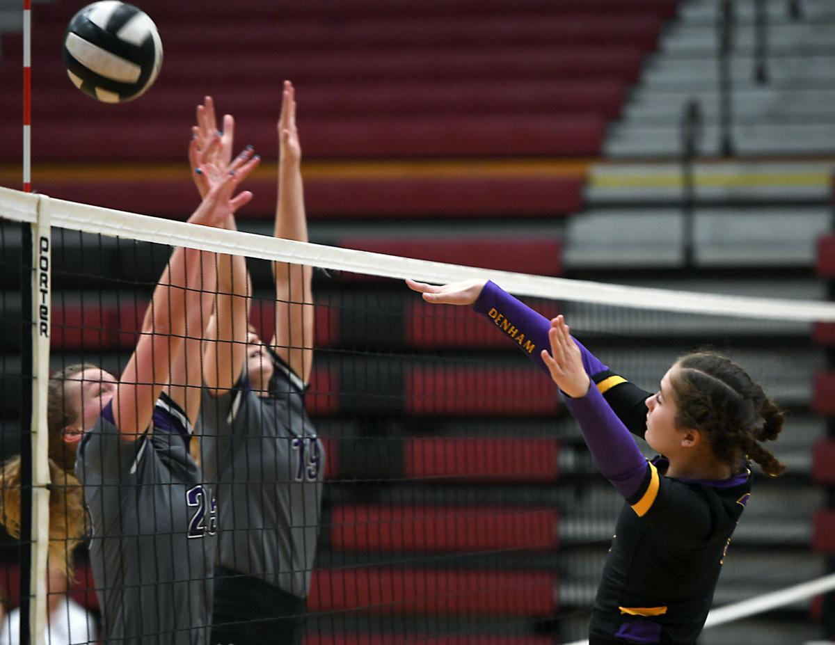 DSHS volleyball vs. Dutchtown: Kate Beatty