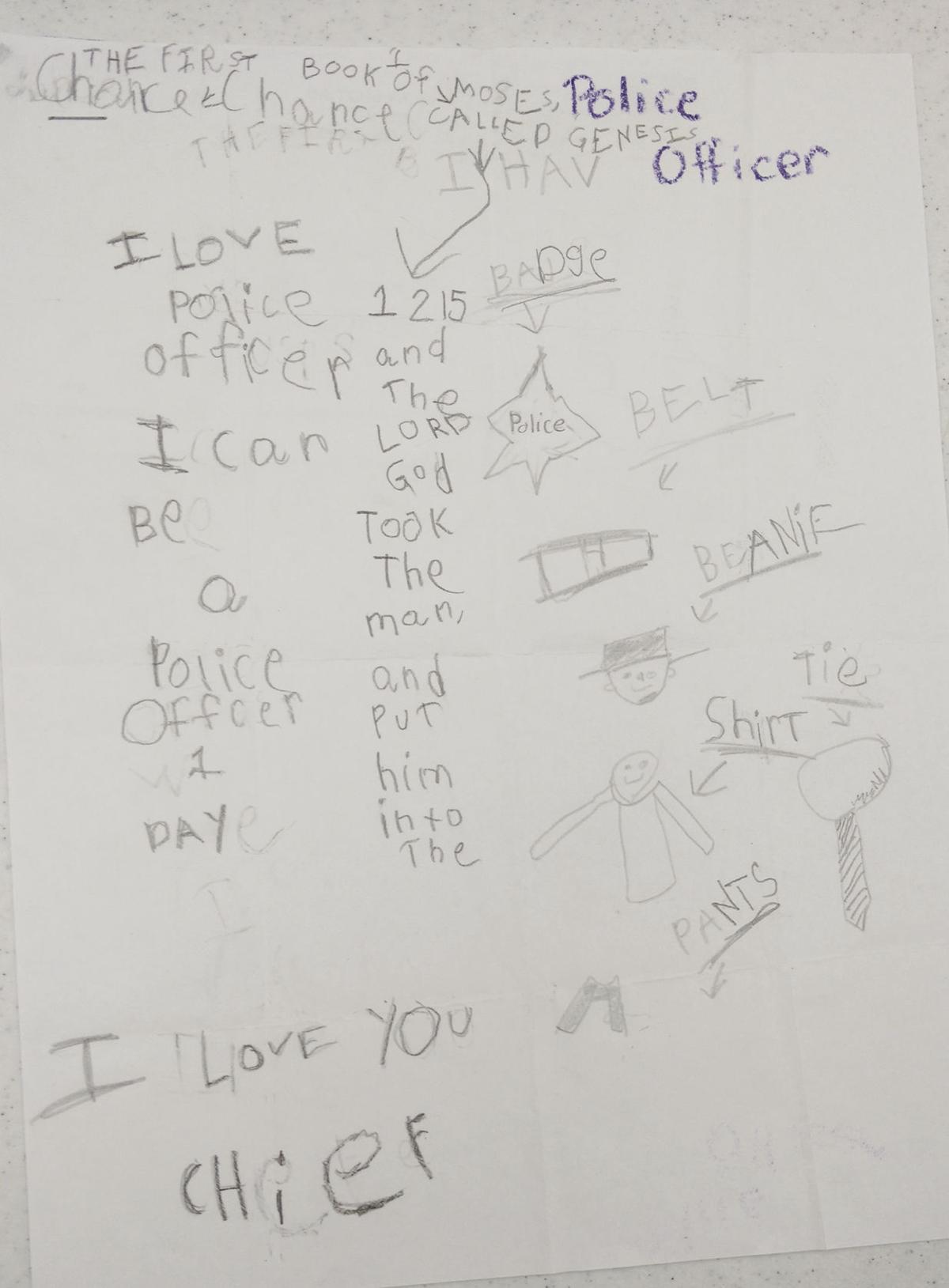 kid letter