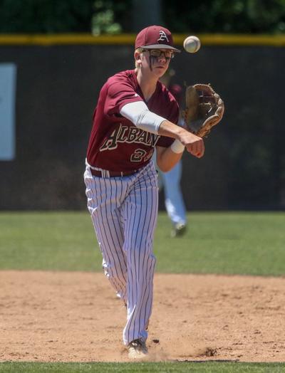 Iowa at Albany baseball D.J. Brumfield