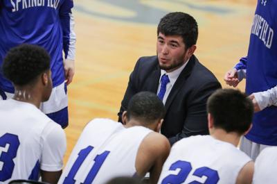 Church Academy at Springfield boys basketball John Hii