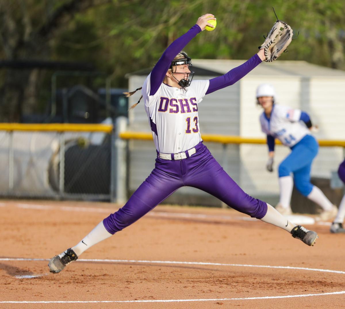 Springfield at Denham Springs softball Natalie Parker