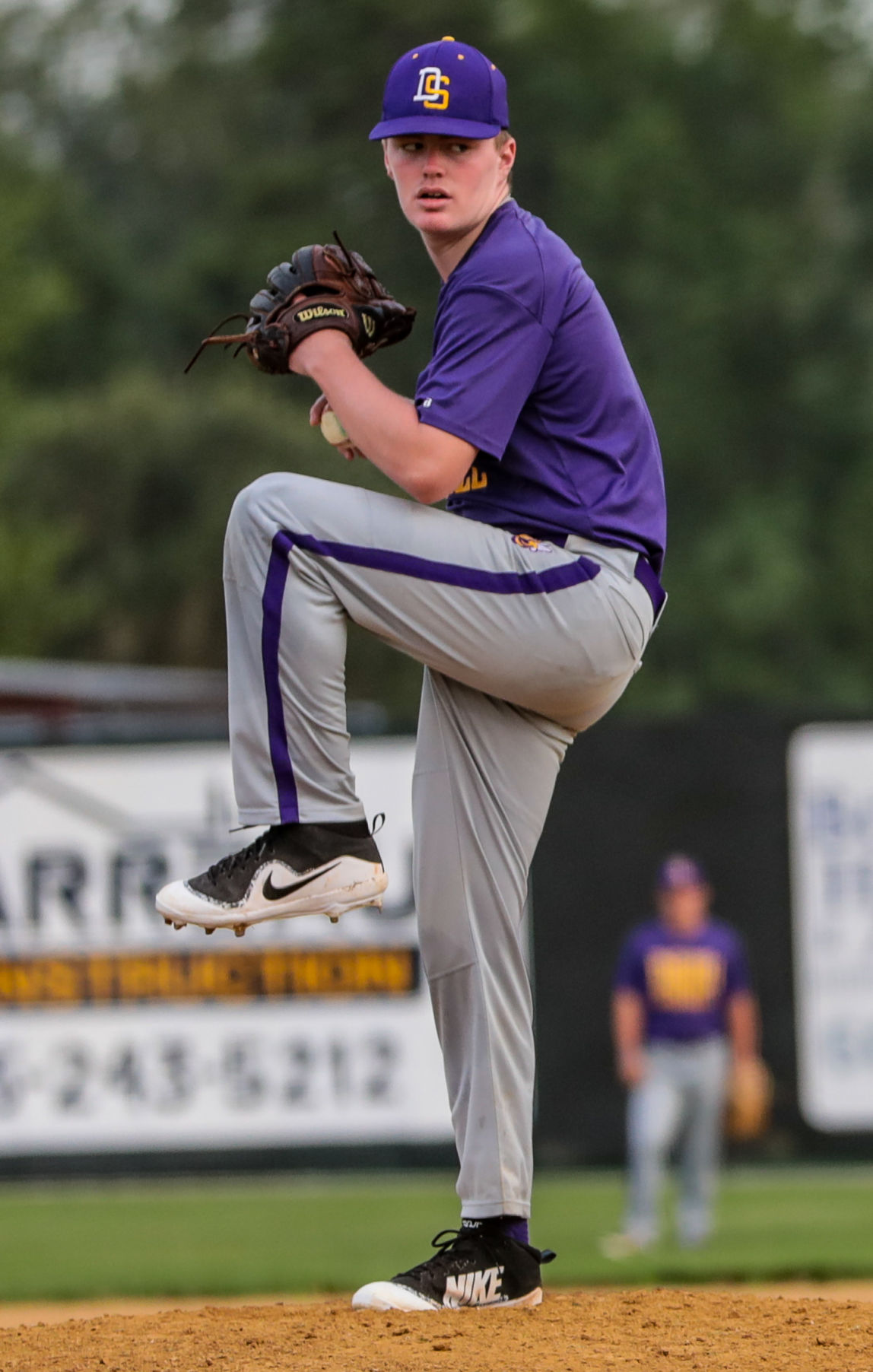 Walker at DSHS baseball Dalton Diez