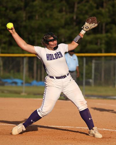 Holden vs Monteray Softball playoffs Taylor Douglas