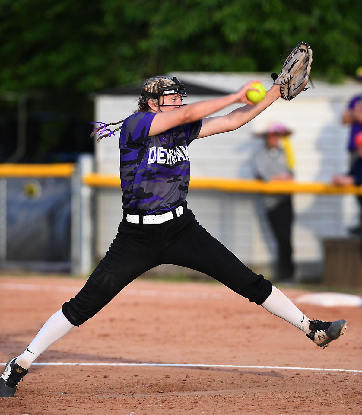 Denham Springs softball vs. Pineville: Natalie Parker