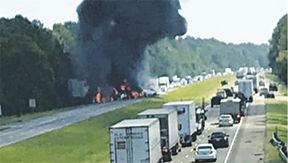 crash on I-12