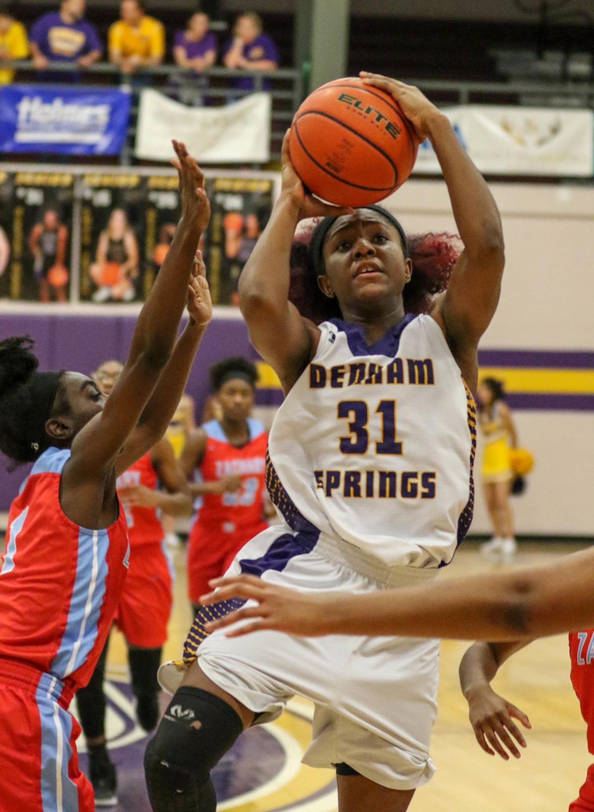 Denham Springs vs Zachary girls basketball Alexius Horne