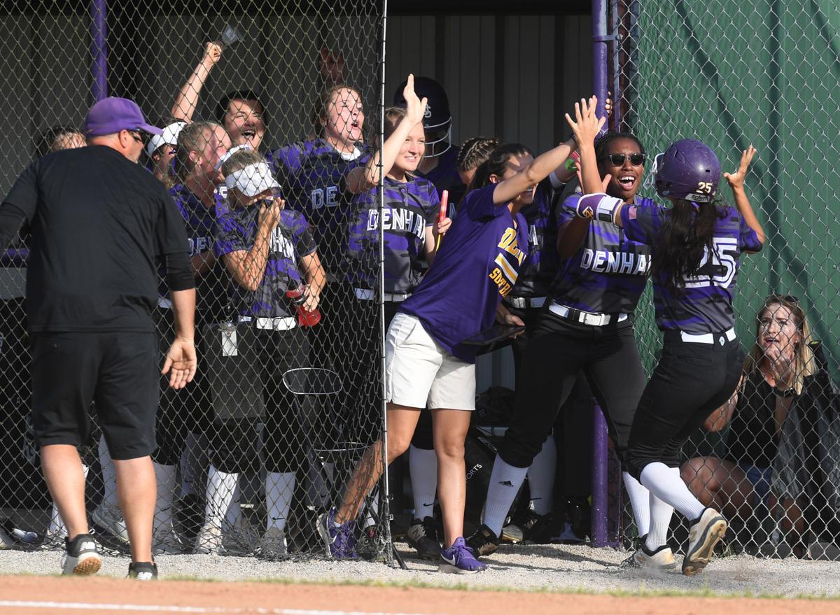 Denham Springs softball vs. Pineville: Paige Luquette