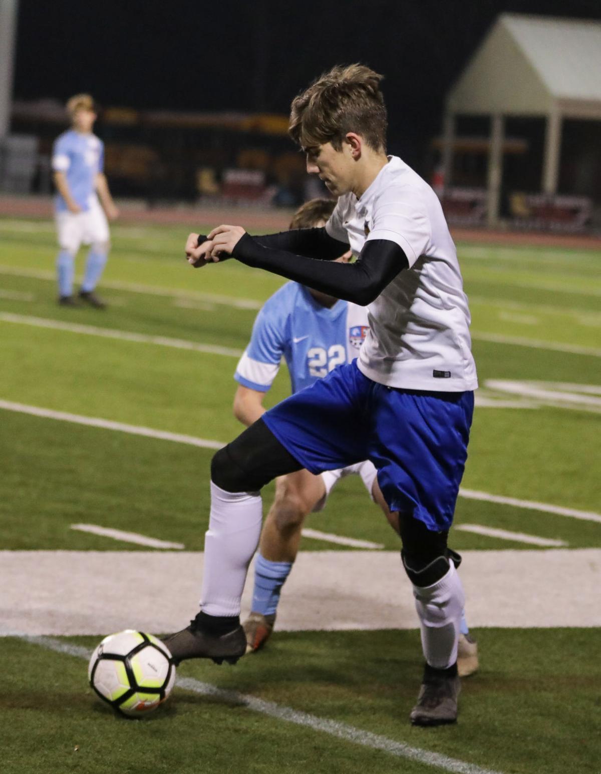 Live Oak vs Zachary boys soccer Jackson Earle Addison Gee
