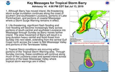 4 p.m. Barry update