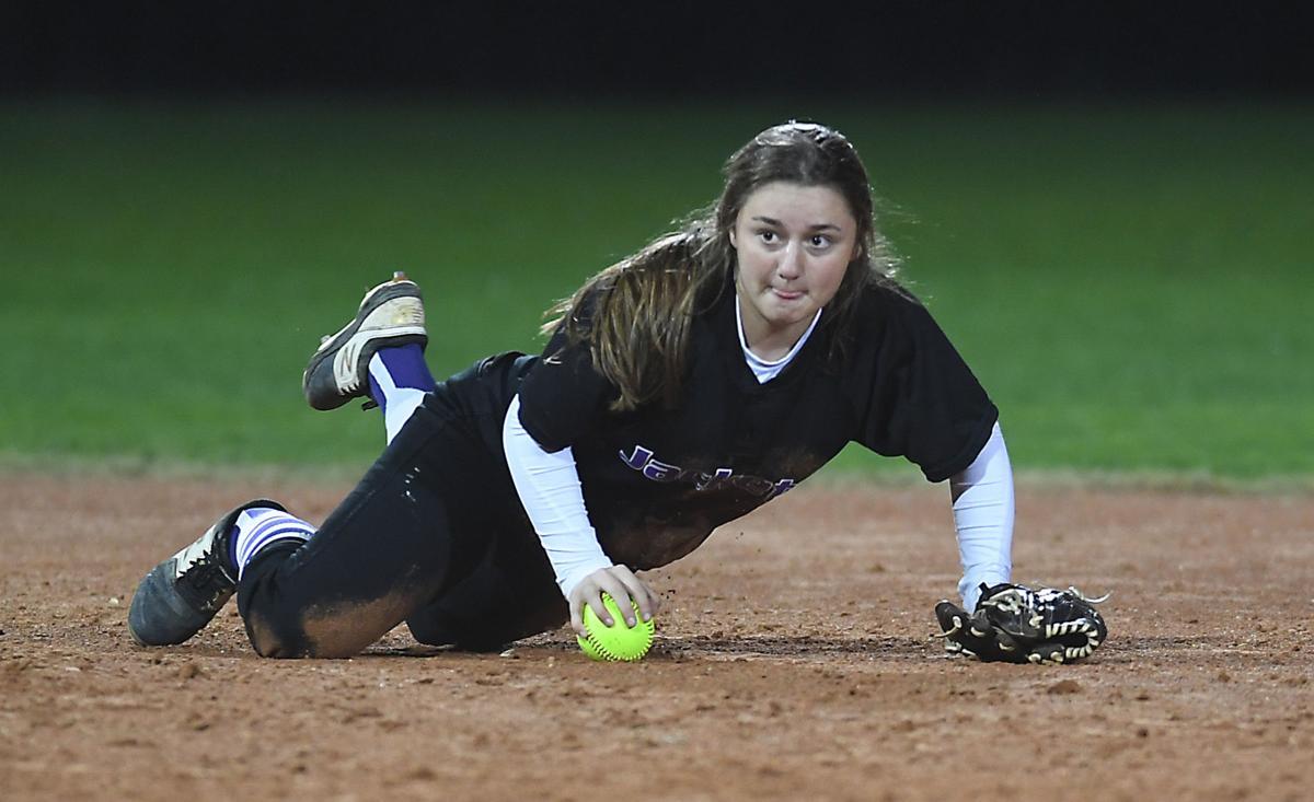 Denham Springs softball vs. Central: Hailey Thomas