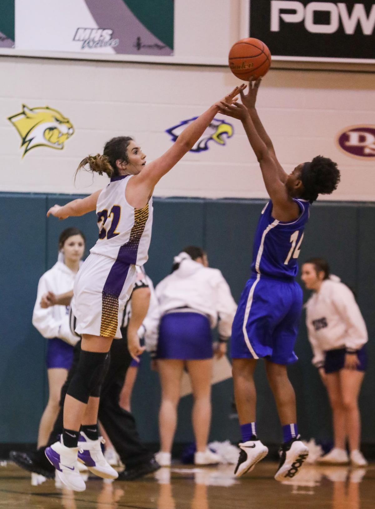 Maurepas vs Holden boys basketball Kate Thompson Destiny Reed