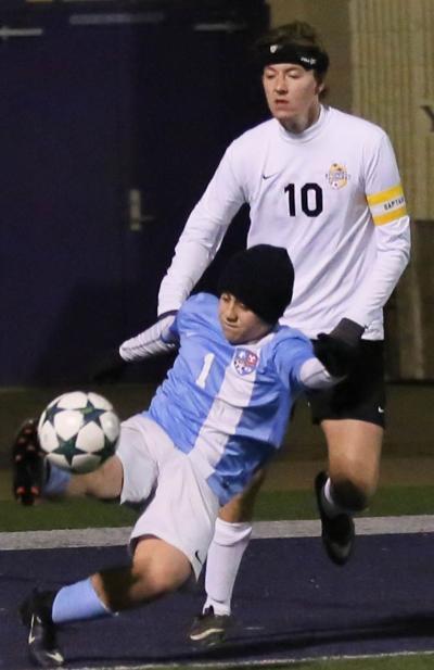 Denham vs Zachary Soccer JJ Hantish Cameron Hamby
