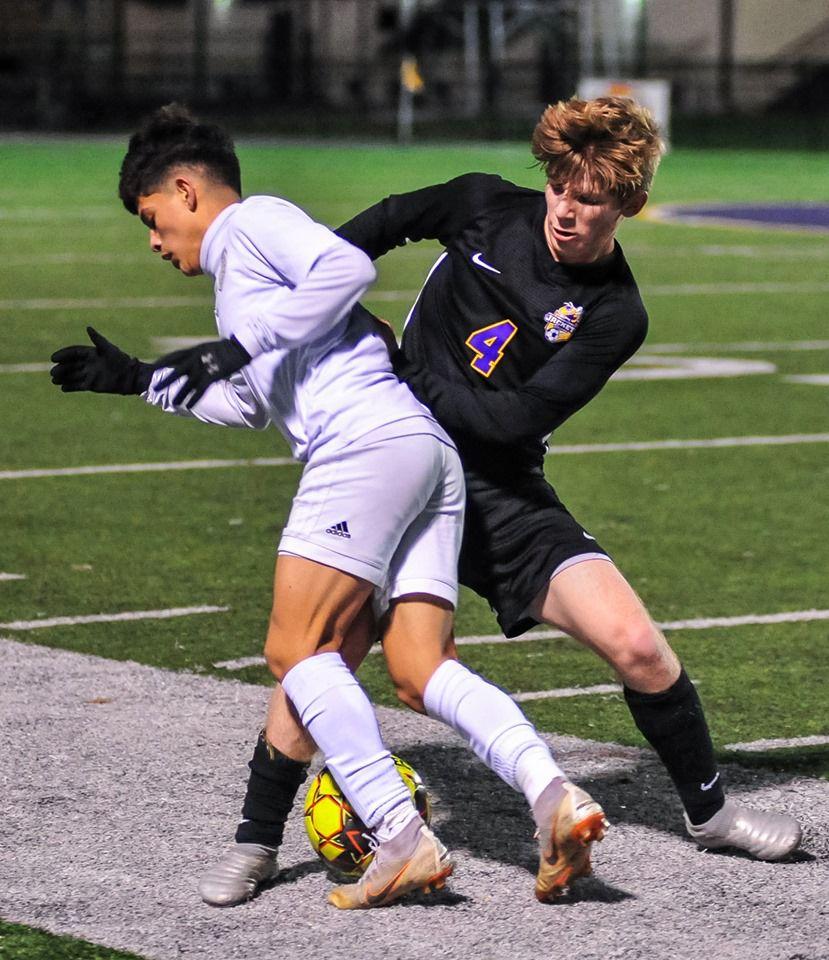 Denham Springs soccer vs. Grace King: Brennan Amato (4)