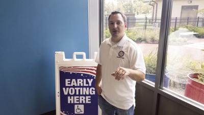 Registrar of Voters Jared Andrews